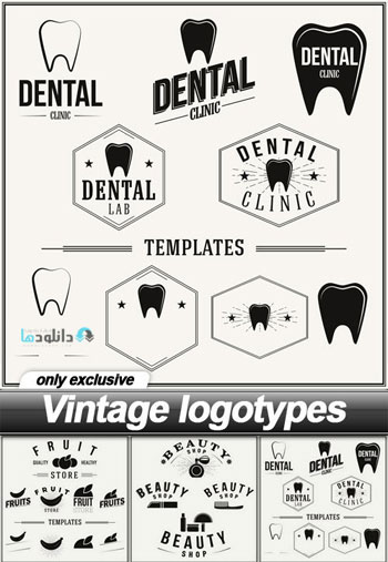 Vintage-logotypes