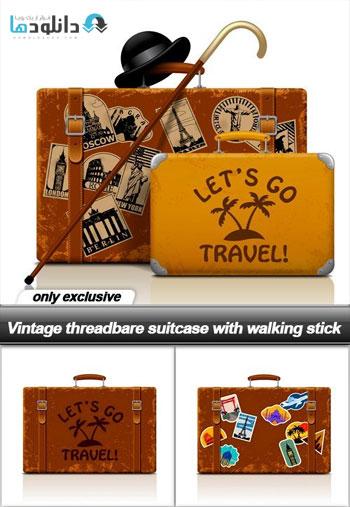 Vintage-threadbare-suitcase