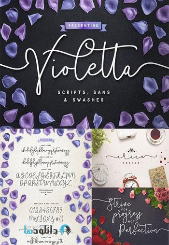 Violetta-Font-Pack