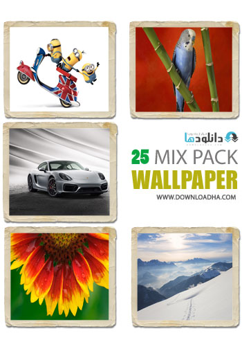 WALLAPER مجموعه ۲۵ والپیپر با موضوع مختلف – HD Mix Wallpaper