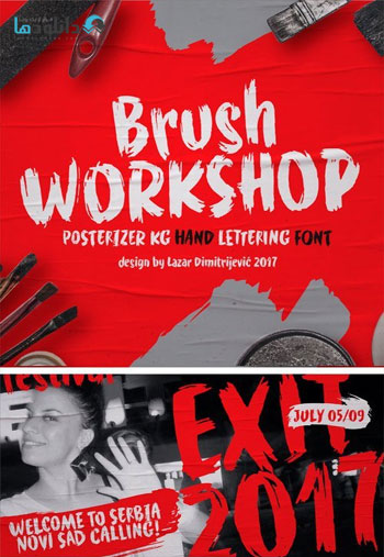 WORKSHOP-Brush-Font