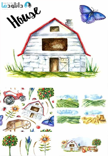 Watercolor-Farm-Design