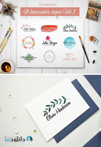 Watercolor-Logo-Templates-I