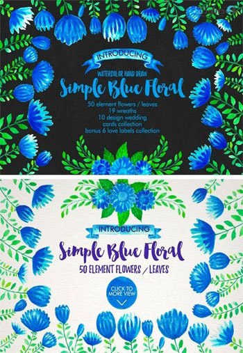 Watercolor-Simple-Blue