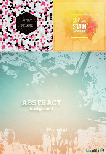 Watercolor-abstract-spots-Premium-Vector