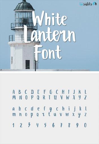 White-Lantern-Font