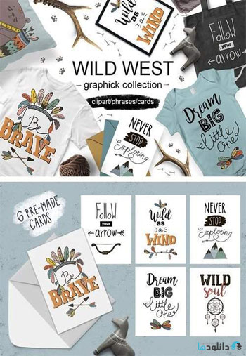 Wild-West-graphic-collection