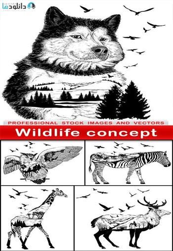 Wildlife-concept