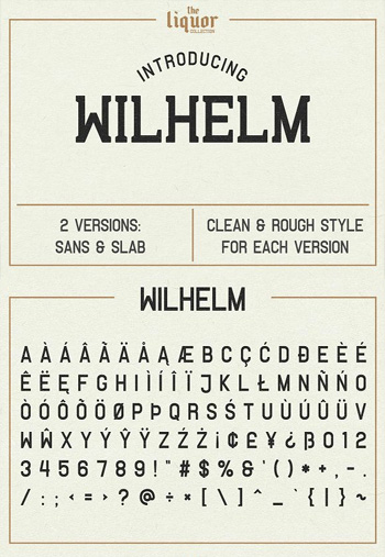 Wilhelm-Font