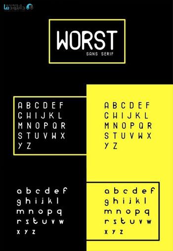 Worst-Font