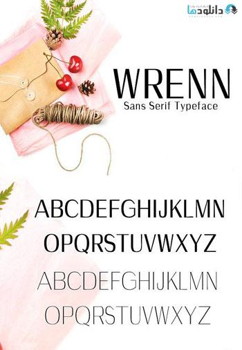 Wrenn-Sans-Serif-Typeface