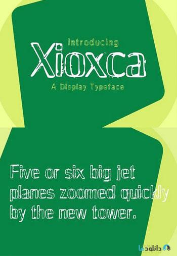 Xioxca-Typeface