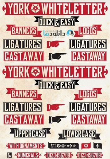 York-Whiteletter-font