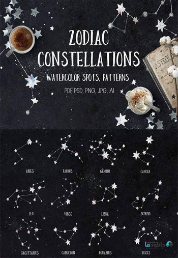 Zodiac-Constellations-Water