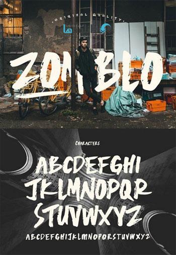 Zomblo-Display-Font