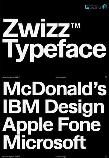 Zwizz-Typeface-font