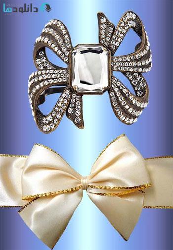 clipart-Lace-bows