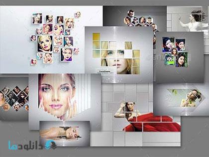 frame psd 01  دانلود تصاویر لایه باز قالب آماده فریم های انتزاعی تصاویر از گرافیک ریور   Graphicriver Abstract Photo Frame Bundle
