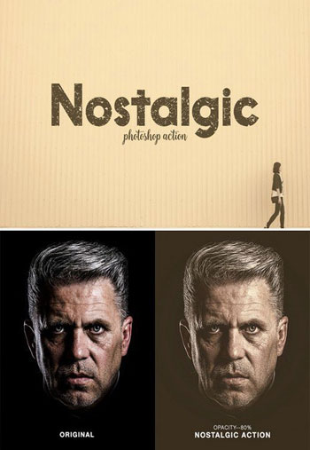Nostalogic Photoshop Action