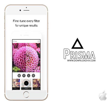 prisma iphone