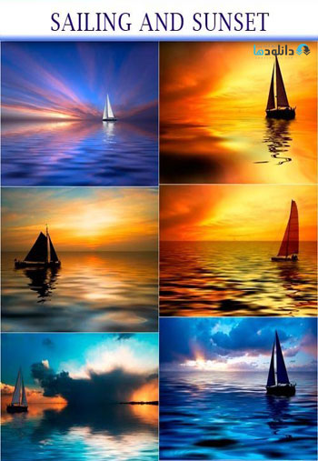 sailing-and-sunset
