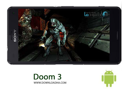 Doom 3 Cover%28Downloadha.com%29 دانلود بازی ترسناک و اسرارآمیز رستاخیز Doom 3 BFG Edition v1.1.9 برای اندروید