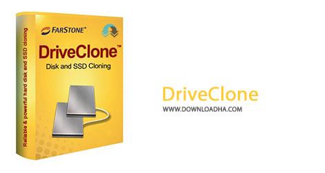 DriveClone Cover%28Downloadha.com%29 دانلود نرم افزار پشتیبان گیری FarStone DriveClone Workstation v11.10