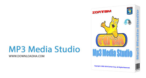 MP3 Media Studio Cover%28Downloadha.com%29 دانلود نرم افزار مدیریت فایل های Mp3 Zortam Mp3 Media Studio v19.55