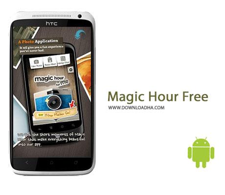 Magic Hour Free Cover%28Downloadha.com%29 دانلود نرم افزار ویرایش حرفه ای تصاویر Magic Hour Free v1.4.5 برای اندروید