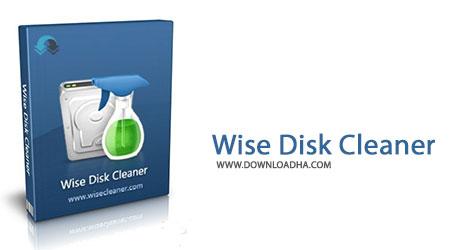 Wise Disk Cleaner Cover%28Downloadha.com%29 دانلود نرم افزار پاکسازی هارد دیسک Wise Disk Cleaner v8.7.1