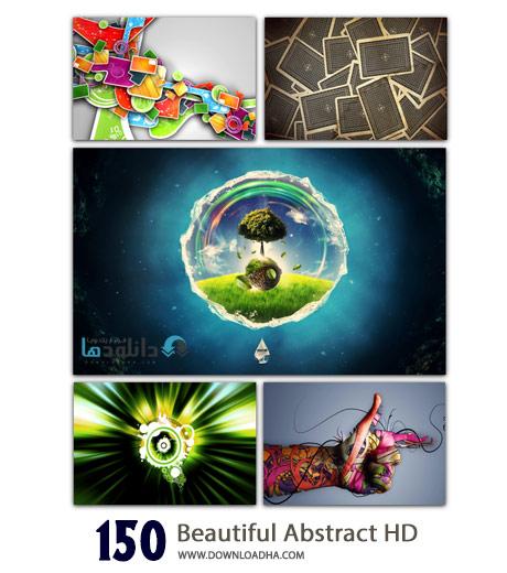 150 Beautiful Abstract HD Wallpapers Cover%28Downloadha.com%29 دانلود مجموعه 150 والپیپر انتزاعی با کیفیت HD