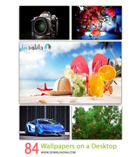 84 Wallpapers on a Desktop Cover%28Downloadha.com%29 دانلود مجموعه 84 والپیپر زیبا و متنوع برای دسکتاپ