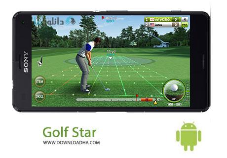 Golf Star Cover%28Downloadha.com%29 دانلود بازی مهیج و زیبای ستاره گلف Golf Star™ v3.5.1 برای اندروید