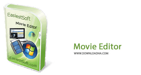 Movie Editor Cover%28Downloadha.com%29 دانلود نرم افزار ویرایش فیلم EasiestSoft Movie Editor v4.7.0