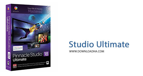 Studio Ultimate Cover%28Downloadha.com%29 دانلود نرم افزار ویرایش حرفه ای فیلم Pinnacle Studio Ultimate v18.6.0 x86/x64