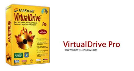VirtualDrive Pro Cover%28Downloadha.com%29 دانلود نرم افزار ساخت درایو مجازی FarStone VirtualDrive Pro v16.10 Build 20150629