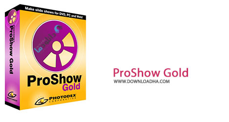 ProShow Gold Cover%28Downloadha.com%29 دانلود نرم افزار ساخت اسلایدشو Photodex ProShow Gold v7.0.3518