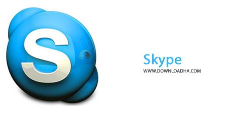 Skype Cover%28Downloadha.com%29 دانلود نرم افزار تماس صوتی و تصویری اسکایپ Skype v7.5.0.101