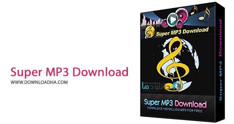 Super MP3 Download Cover%28Downloadha.com%29 دانلود نرم افزار جستجو و دانلود آهنگ Super MP3 Download v5.0.7.8