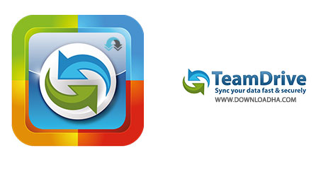 TeamDrive Cover%28Downloadha.com%29 دانلود نرم افزار TeamDrive 4.0.8.1252 به اشتراک گذاری اطلاعات