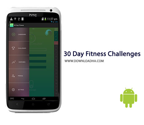 30 Day Fitness Challenges Cover%28Downloadha.com%29 دانلود برنامه چلش سلامتی 30 Day Fitness Challenges 1.6.6 برای اندروید