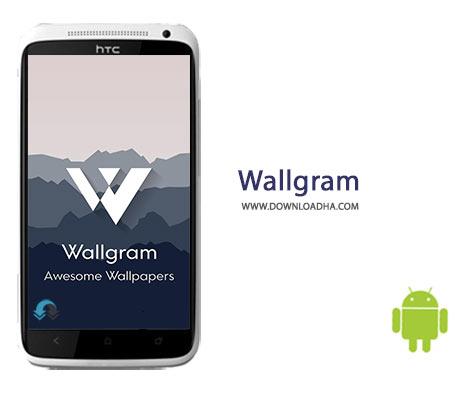 Wallgram Cover%28Downloadha.com%29 دانلود نرم افزار جستجوی والپیپر Wallgram 1.0.2 برای اندروید