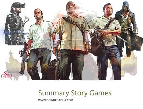 Summary Story Games Cover%28Downloadha.com%29 دانلود نرم افزار ایرانی مشاهده داستان بازی ها Summary Story Games