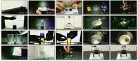 10 Amazing Science Tricks Using Liquid ss s%28Downloadha.com%29 دانلود کلیپ 10 ترفند زیبای علمی با استفاده از مایع