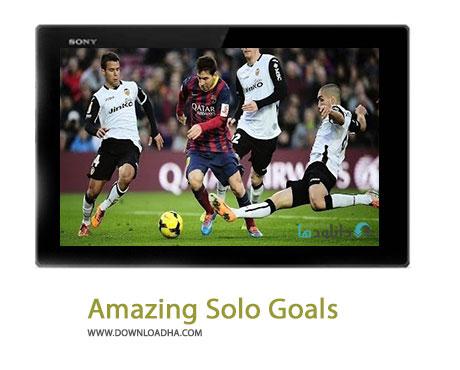 Amazing Solo Goals Cover%28Downloadha.com%29 دانلود کلیپ بهترین گل های انفرادی توسط برترین بازیکنان فوتبال
