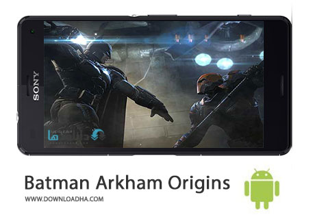 Batman Arkham Origins Cover%28Downloadha.com%29 دانلود بازی زیبای بتمن Batman Arkham Origins v1.3.0 برای اندروید