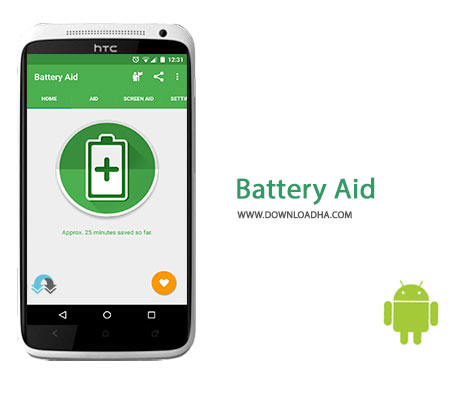 Battery Aid Cover%28Downloadha.com%29 دانلود نرم افزار بهینه سازی مصرف باتری Battery Aid v5.0.1 برای اندروید