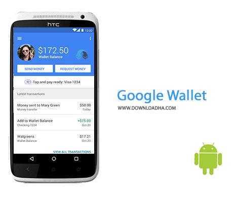 Google Wallet Cover%28Downloadha.com%29 دانلود نرم افزار کیف پول گوگل Google Wallet (New) 10.0 R227 v5 برای اندروید
