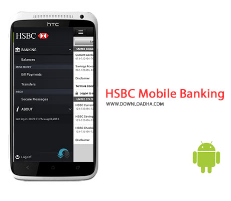 HSBC Mobile Banking Cover%28Downloadha.com%29 دانلود نرم افزار مدیریت پول و حساب های بانکی HSBC Mobile Banking 1.5.11.1 برای اندروید