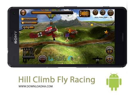 Hill Climb Fly Racing Cover%28Downloadha.com%29 دانلود بازی مسابقه ای صعود به تپه Hill Climb Fly Racing 1.1 برای اندروید